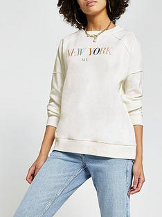 river-island-new-york-embroidered-sweater-white