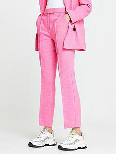 river-island-straight-leg-crop-trouser-pink