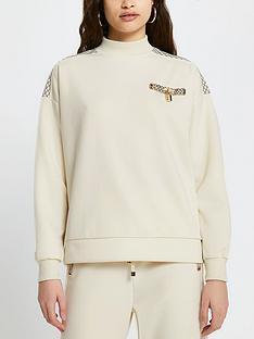 river-island-monogram-trim-high-neck-sweater-cream
