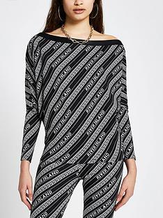 river-island-branded-off-the-shoulder-sweater-black