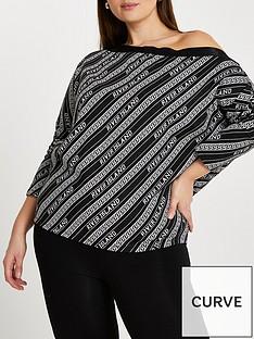ri-plus-ri-plus-branded-off-the-shoulder-sweater-black
