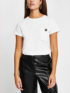 river-island-button-chest-pocket-t-shirt-white
