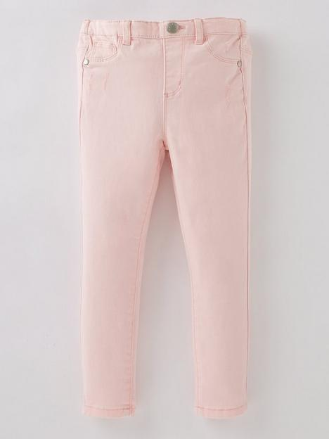 mini-v-by-very-girls-ripped-twill-trouser-pink