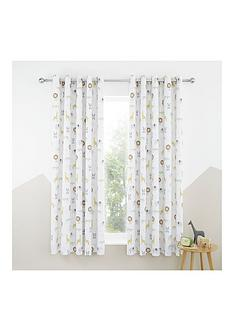 catherine-lansfield-roarsome-animals-blackout-curtains