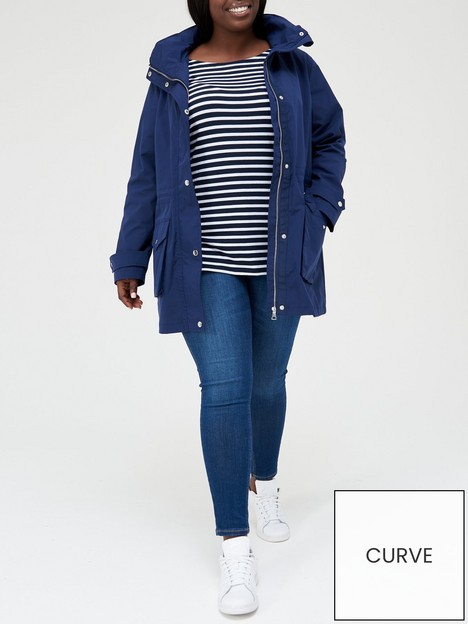 v-by-very-curve-shower-proof-rain-coat-navy