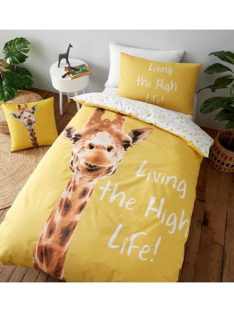 catherine-lansfield-giraffe-duvet-set