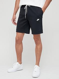 nike-modern-fleece-shorts-blue