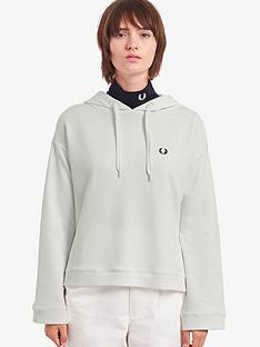 fred-perry-taped-hooded-sweatshirt-white