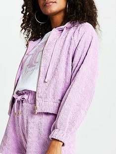 river-island-logo-towelling-zip-through-lounge-hoodie-purple