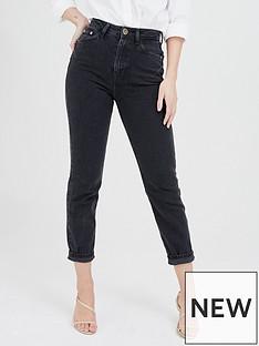 river-island-carrie-comfort-sculpt-high-waist-mom-jean-black