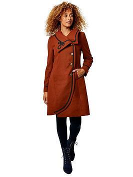joe-browns-elegant-collar-coat-rust