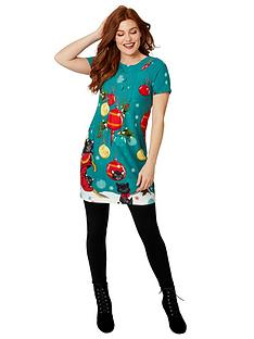 joe-browns-festive-feline-tunic