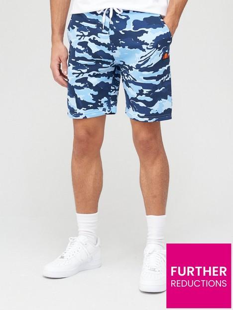 ellesse-chanol-shorts-bluecamo