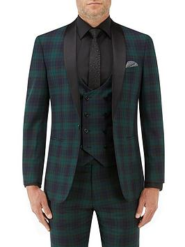 Skopes Sanchez Tailored Jacket - Green Navy, Green/Navy, Size 46, Men