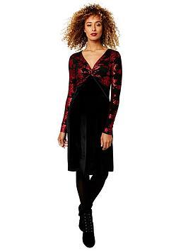 joe-browns-vivid-velvet-dress-black