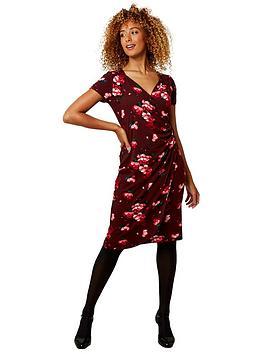 joe-browns-evening-florals-dress-burgundy