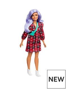barbie-fashionista-doll-plaid-dress