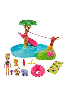 barbie-barbienbspand-chelseanbspthe-lost-birthday-splashtastic-pool-surprise-playset-with-chelsea-doll-6-in-3-baby-animals-slide-zipline-amp-accessories