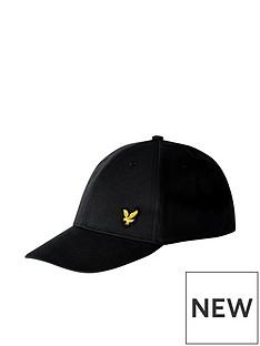 lyle-scott-logo-cap-black