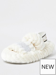 river-island-girls-faux-fur-slipper--nbspcream