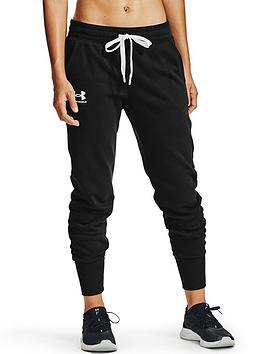 under-armour-rival-fleece-joggers-blackwhite