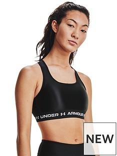 under-armour-crossback-matte-shine-bra-black
