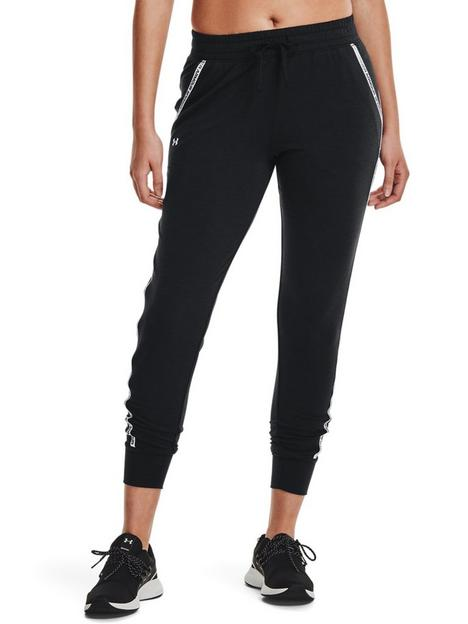 under-armour-rival-terry-taped-pants-blackwhite