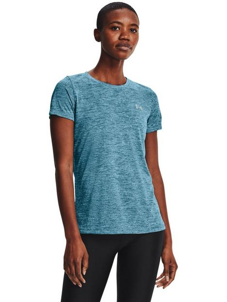 under-armour-technbsptwist-t-shirt-blue-sliver