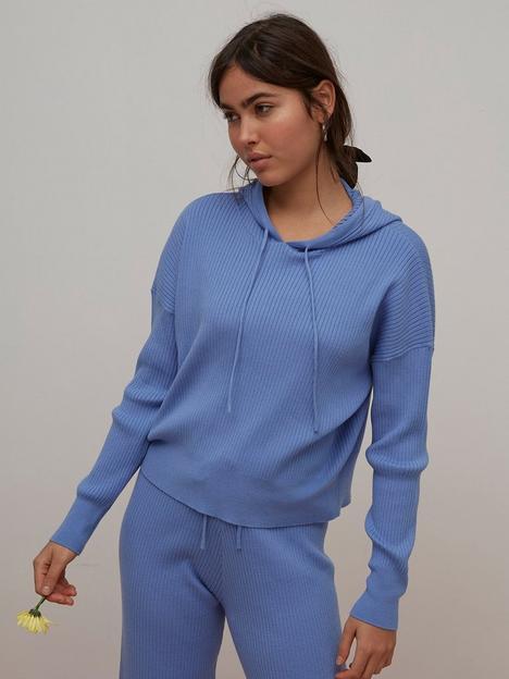 nobodys-child-ribbed-hoodie-blue