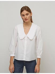 nobodys-child-collar-smock-top-white