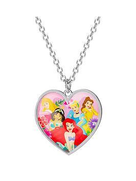 disney disney princess heart pendant kids necklace