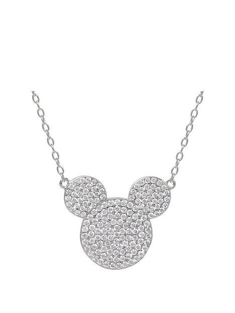 disney-mickey-mouse-sterling-silver-crystal-pendant-necklace