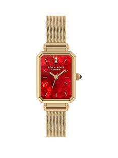 lola-rose-lola-rose-ruby-diamond-dial-gold-stainless-steel-mesh-strap-ladies-watch