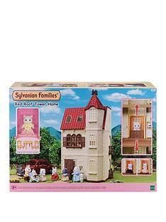 sylvanian-families-sylvanian-families-red-roof-tower-house-gift-set