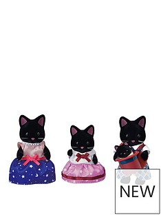sylvanian-families-midnight-cat-family