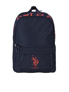 us-polo-assn-boys-horseman-backpack-navy