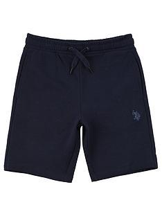 us-polo-assn-boys-core-sweat-short-navy