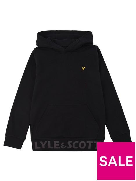 lyle-scott-boys-logo-waistband-hoodie-black