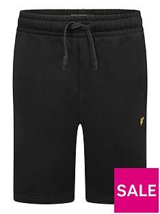 lyle-scott-boys-classic-jog-short-black