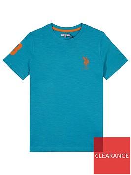 us-polo-assn-boys-slub-t-shirt-blue