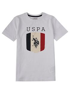 us-polo-assn-boys-shield-t-shirt-white