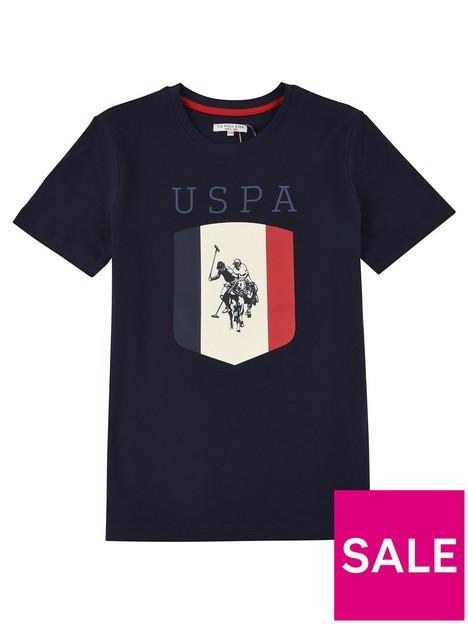us-polo-assn-boys-shield-t-shirt-navy