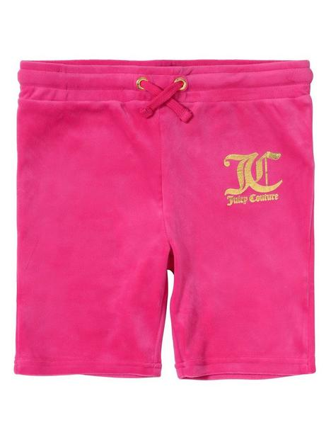 juicy-couture-girls-velour-cycle-shorts-pink