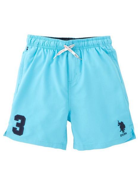 us-polo-assn-boys-player-3-swim-shorts-blue