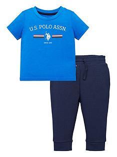 us-polo-assn-toddler-boys-2-piece-striped-rider-short-sleevenbspt-shirt-and-jog-set-bluenavy
