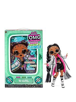 L.O.L Surprise! Omg Dance Dance Dance B-Gurl Fashion Doll With 15 Surprises Including Magic Blacklight, Shoes, Hair Brush, Doll Stand And Tv Package
