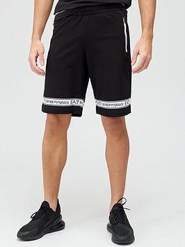 ea7-emporio-armani-logo-series-tape-jersey-shorts-black