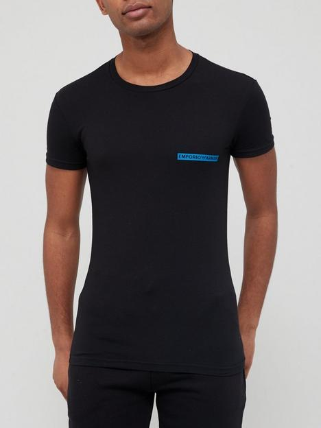 emporio-armani-bodywear-icon-logo-lounge-slim-fit-t-shirt--nbspblack