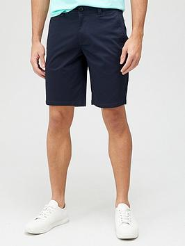 armani-exchange-chino-shorts-navy