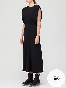 joseph-delannoy-cady-dress-black